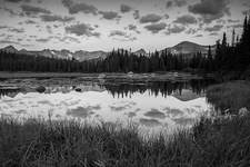 INDIAN PEAKS REFLECTION